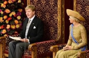 Willem-Alexander spreekt over hervormingen in het belastingstelsel